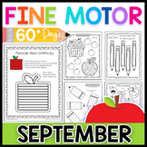 Fine Motor Skills: September Activity Pack