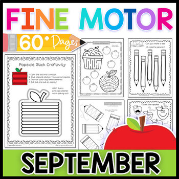 Fine Motor Skills: September Activity Pack