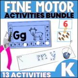 Fine Motor Skills Activities Bundle