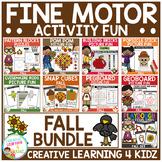 Fine Motor Skills Activity Fun Bundle: Fall