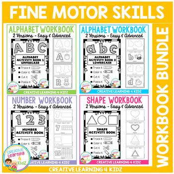 Fine Motor Skills Activity Workbook Bundle