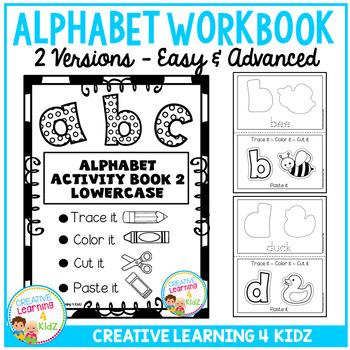 Fine Motor Skills Alphabet Book 2
