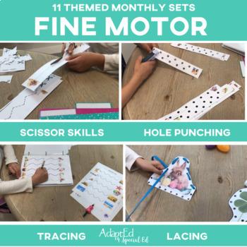 Fine Motor Skills BUNDLE 11 Monthly Sets