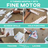 Fine Motor Skills BUNDLE 11 Monthly Sets