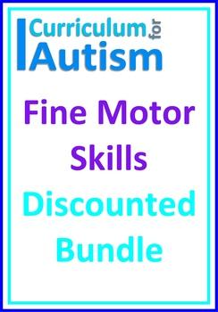 Fine Motor Skills BUNDLE, Autism, Special Education