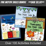 Fine Motor Skills BUNDLE: Over 100 Activities!