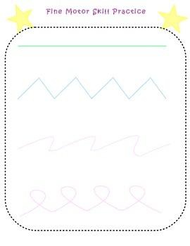 Fine-Motor Skills Booklet (Preschool FMS Development Practice)
