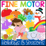 Fine Motor Skills Bundle: A Year of Instant Thematic Cente