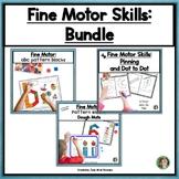 Fine Motor Skills, English Bundle