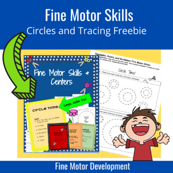 Fine Motor Skills FREEBIE: Circle Time Activities