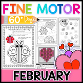 Fine Motor Skills: February Activity Pack