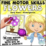 Fine Motor Skills: Flower (Spring/May task boxes, morning
