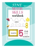 Fine Motor Skills Handwriting tracing lines shapes and numbers worksheet