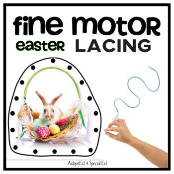 Fine Motor Skills Lacing Cards