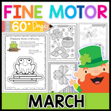 Fine Motor Skills: March Activity Pack