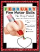 Fine Motor Skills Monthly BUNDLE for the Entire School Yea