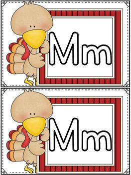 Fine Motor Skills Mini Mats- November Literacy Centers, Thanksgiving Activities