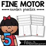 Fine Motor Skills Number Practice