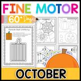 Fine Motor Skills: October Activity Pack