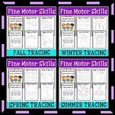 Fine Motor Skills | Pencil Control | Seasons | Tracing
