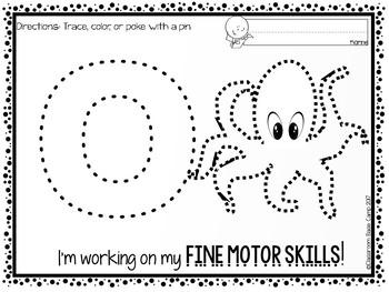 Fine Motor Skills Pokey Pin - Push Pin Activities