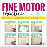 Fine Motor Skills Practice BUNDLE (6 resources included!)