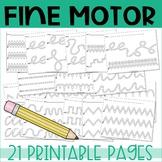 Fine Motor Skills Practice - Fine motor practice activities