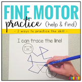 Fine Motor Skills Practice (Help and Find)
