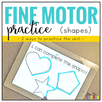 Fine Motor Skills Practice (Shapes)