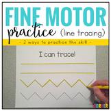Fine Motor Skills Practice (Tracing Lines)