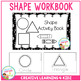 Fine Motor Skills Shape Activity Book