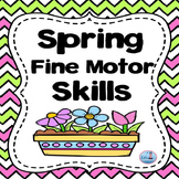Fine Motor Skills (Spring Themed Freebie)