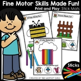 Fine Motor Skills: Sticks Made Fun!