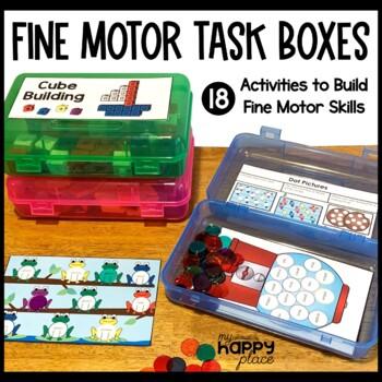Fine Motor Skills Task Boxes (work bins, morning tubs)