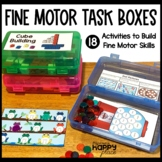 Fine Motor Skills Task Boxes (work bins, morning tubs)