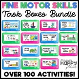 Fine Motor Skills Task Boxes Bundle (work bins, morning tubs, activities)