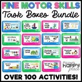 Fine Motor Skills Task Boxes Bundle (work bins, morning tubs, activities)