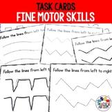 Fine Motor Skills Task Cards, Pre Handwriting