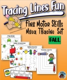 Fine Motor Skills Tracing Set  {Fall Edition}