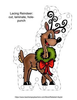 Toddler Worksheets- Scissors Skills Fine Motor Practice: Winter