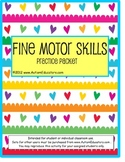 Fine Motor Skills Writing Tracing Packet | Special Education Distance Learning