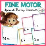Fine Motor Skill Activity: Alphabet Tracing Worksheets