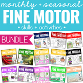 Fine Motor Skills and Activities BUNDLE