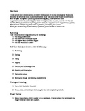 Fine Motor  Skills suggestions for parents