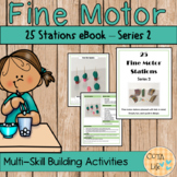 Fine Motor Stations or Centers -  Series 2
