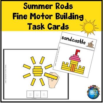 Fine Motor Summer Rods Building Set