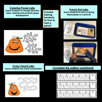 Occupational Therapy Super Pack!  Pumpkin Themed Activities for Classroom