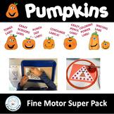 Pumpkin Themed Fine Motor Labs
