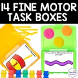 Fine Motor Task Boxes for Special Education