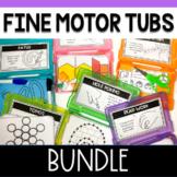 Fine Motor Task Card Boxes for Preschool and Kindergarten- BUNDLE